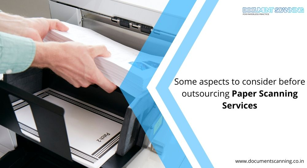 Paper scanning service